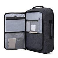 Рюкзак для ноутбука 15.6″ Pomona Bagsmart черный , фото 10