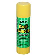 Клей-карандаш Amos 22г