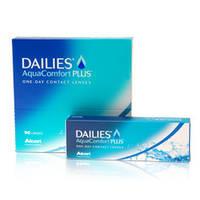 Контактные линзы однодневные Focus Dailies Aqua