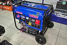 Бензиновый генератор Scheppach SG6500 (5,5 кВт, 3ф~)