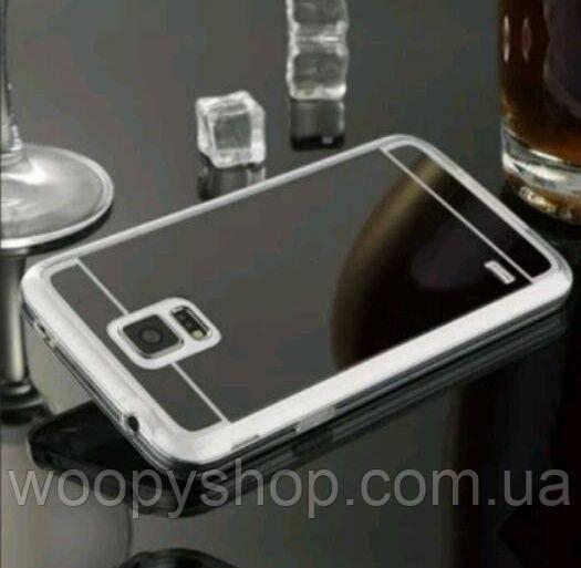 Зеркальный чехол Samsung J7 2015