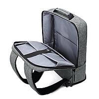 Рюкзак для ноутбука 15.6″ Pomona Bagsmart серый , фото 8