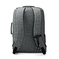 Рюкзак для ноутбука 15.6″ Pomona Bagsmart серый , фото 7