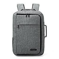 Рюкзак для ноутбука 15.6″ Pomona Bagsmart серый , фото 4