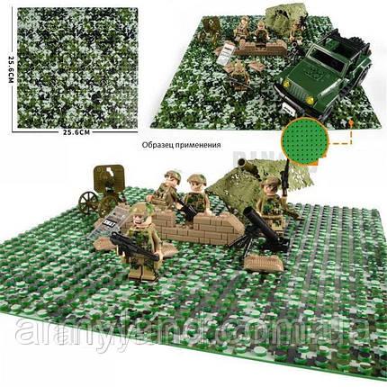 Пластина для Lego,Лесной камуфляж, строительная пластина, базовая пластина, фото 2