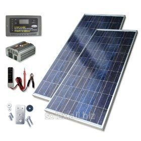 Солнечные батареи для дачи Вариант 3
