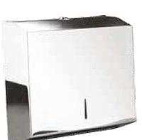 Держатель Inox JVD для всех типов листовых бумажных полотенец V, Z, ZZ сложения