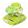 Ходунки детские TILLY 22188 GREEN с качалкой