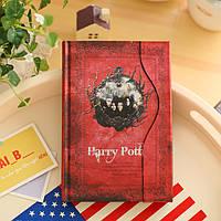 Ежедневник Гарри Поттер Harry Potter  красный
