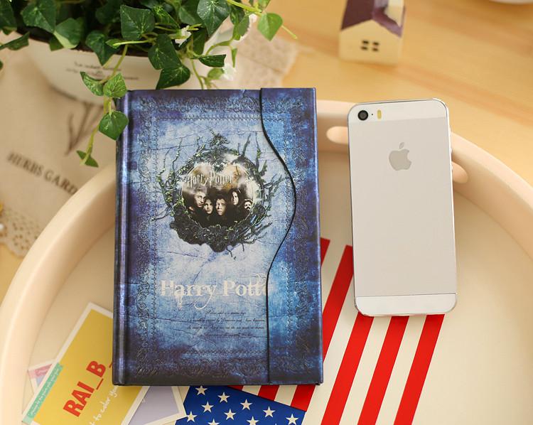 Ежедневник Гарри Поттер Harry Potter  синий
