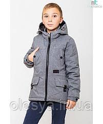 Демисезонная куртка парка на мальчика Кирилл Размеры 122- 158 Новинки весны 2019!