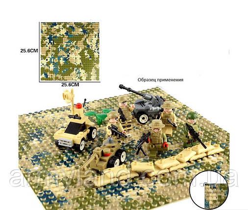 Пластина для Lego,Полевой камуфляж, строительная пластина, базовая пластина, фото 2