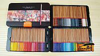 Цветные карандаши MARCO Fine Art-100TN 100 цветов в металлическом пенале материал Карандашей кедр (уп2)