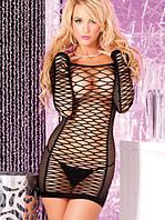 Сексуальное прозрачное платье - сетка, фото 1