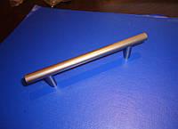 Ручка мебельная трубочка 96мм сатин , фото 1