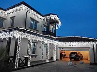 Иллюминация для дома, новогоднее оформление ресторана, гирлянды на прокат киев