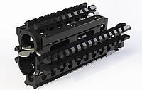 База креплений с четырьмя Планка Пикатинни CQR type AK-v1