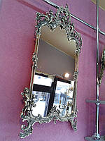 "Настенное зеркало ""Амур"" из бронзы"