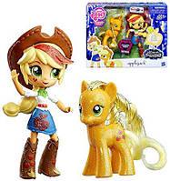 My Little Pony Набор кукла Эплджек и пони, Applejack Pony & EquestriaОригинал из США, фото 1