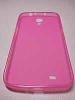 Чехол TPU для Samsung Galaxy Mega 6.3 i9200 розовый