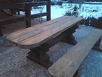 Стол деревянный Дикий
