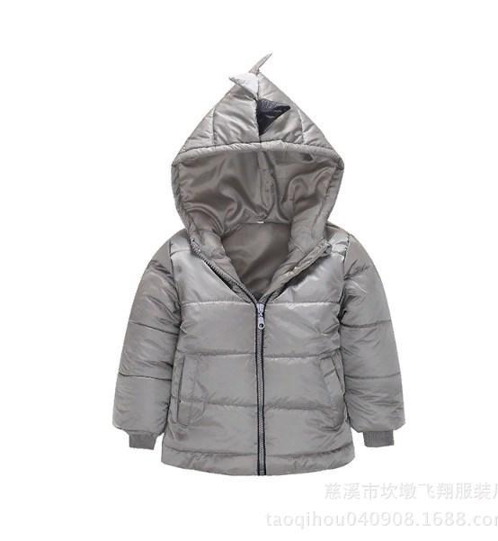 Куртка демісезонна Дракоша (сер) 100,110