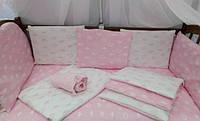 Сменные комплекты в кроватку 3 предмета