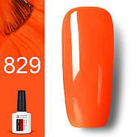 Гель лак GDCOCO 8мл. 829 ярко-оранжевый