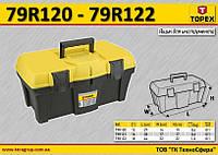 "Ящик для инструмента 12"",  TOPEX  79R120"