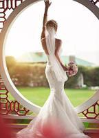 Белые платья на свадьбу венчание роспись