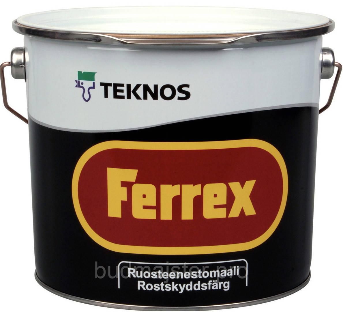 Фарба Teknos Феррекс сіра, 3 л