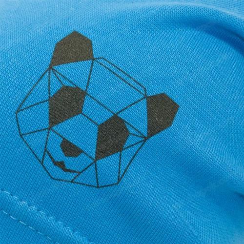 Шапка с геометрическим рисуноком панды