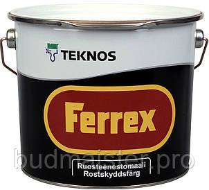 Фарба Teknos Феррекс сіра, 10 л