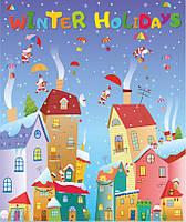 """Лепбук """"Winter Holidays"""" (Зимові канікули). Нова українська школа., фото 1"""