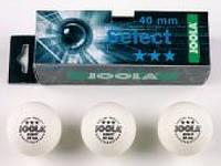Мячи для настольного тенниса Joola Select 3-звезды (3 шт.) (44010J)