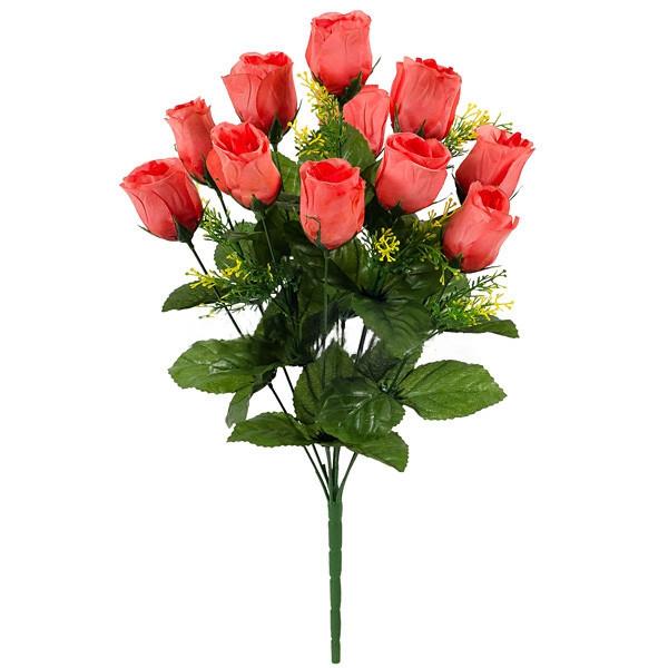 Роза бутон 53см   (10 шт в уп)