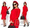 Платье женское из ангоры (3 цвета) - Красный PY/-0165