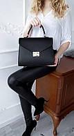 Элегантная сумочка Фурла черного цвета АРТ.01135, фото 1