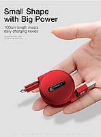 Кабель быстрой зарядки Cafele for Iphone Red, фото 2