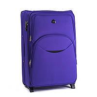 Малый тканевый чемодан Wings 1708 на 2 колесах фиолетовый