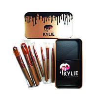 Кисточки для макияжа Kylie professional brush set 7 штук