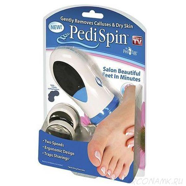 Электрическая пемза для педикюра Pedi Spin (Педи Спин)