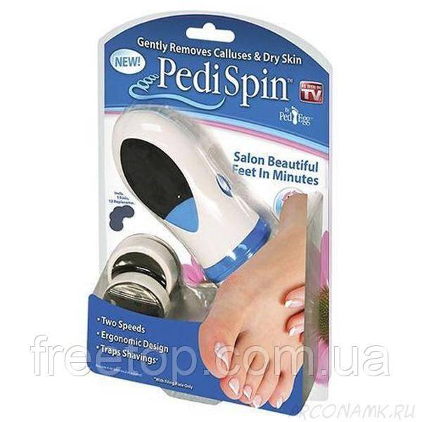 Електрична пемза для педикюру Pedi Spin (Педі Спін)