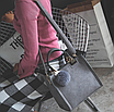 Сумка женская классическая с ручками Elli Серый, фото 2