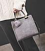Сумка женская классическая с ручками Elli Серый, фото 5
