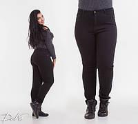 Женские стрейчевые джинсы утепленные ботал