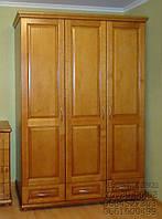 """Шкаф деревянный для прихожей """"Трио-3""""."""