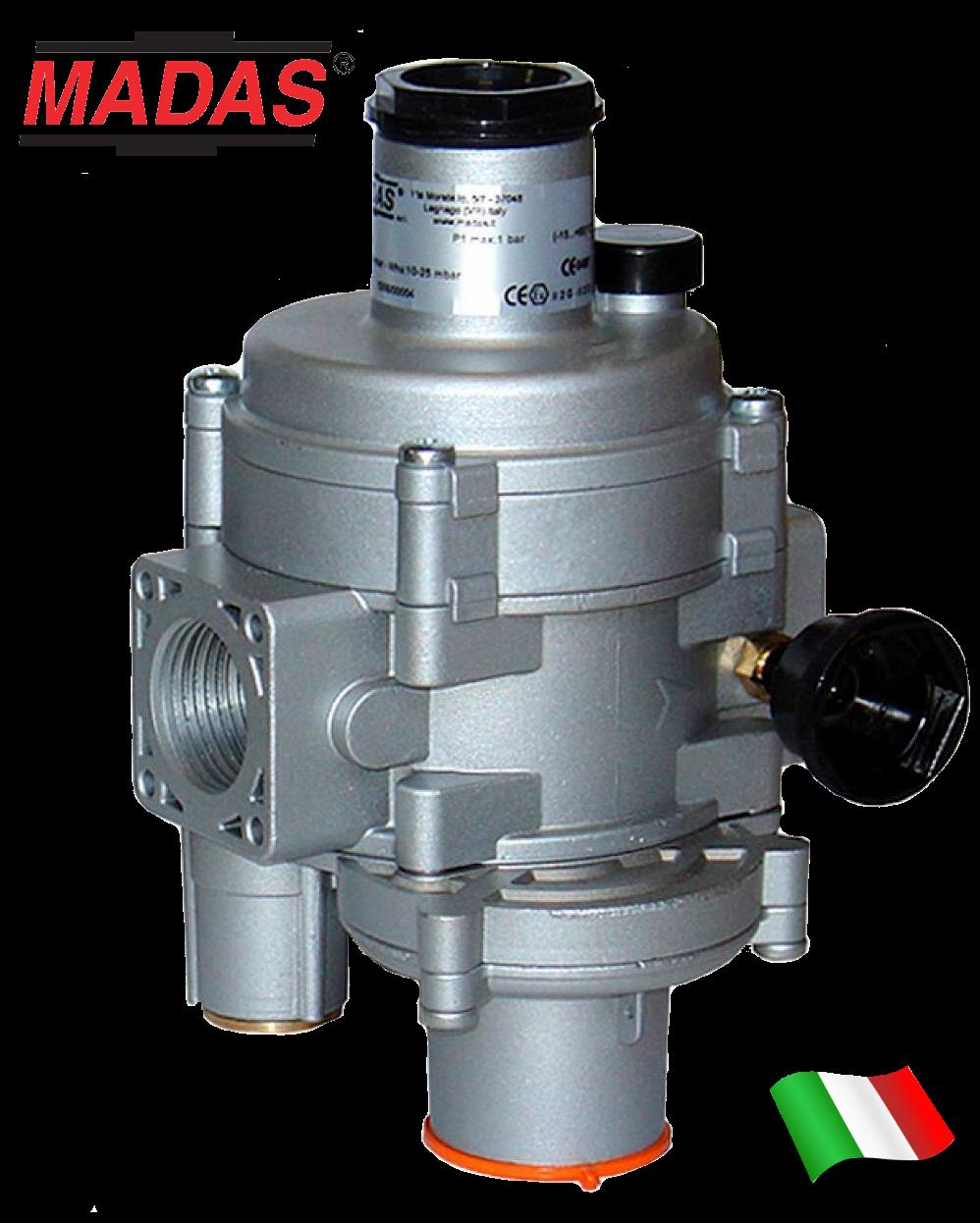 Регулятор тиску газу FRG/2MBCZ, DN20, MADAS