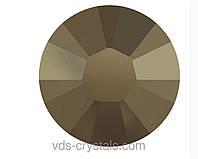 Клейові стрази Swarovski гарячої фіксації 2038 Crystal Metallic Light Gold F (M 001) (упаковка 1440 шт.)