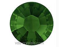 Стразы Swarovski клеевые горячей фиксации 2038 Dark Moss Green F (260)(упаковка 1440 шт.)